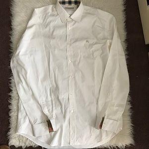 Burberry White Dress Shirt